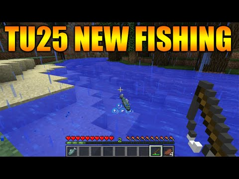 ★Minecraft Xbox 360 + PS3 Title Update 25 New Fishing, New Fish, Enchanted Fishing Rod & More★