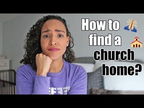 How I Found a Church Home