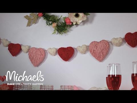 DIY Heart Garland | Michaels