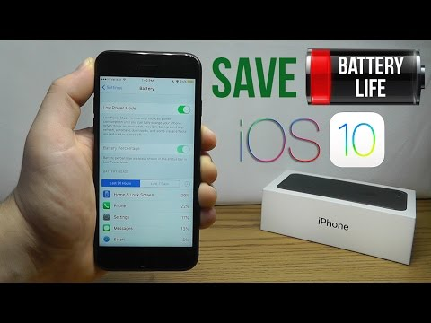 How to Improve Battery Life on iOS 10 – Best Tips & Tricks!