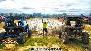 HEADS UP SIDE BY SIDE MUD RACING!!
