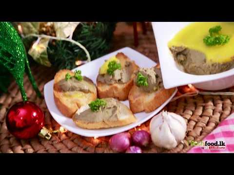 Chicken Liver Parfait - English