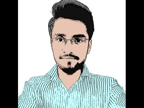 How to cartoon Yourself in Photoshop cc - Very easy