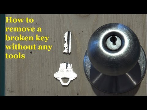 Two Ways to remove a broken key