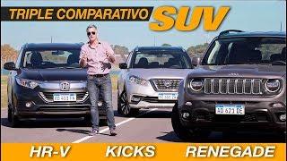 Download Comparativo SUV: Jeep Renegade   Nissan Kicks   Honda HRV - Matías Antico - TN Autos Video
