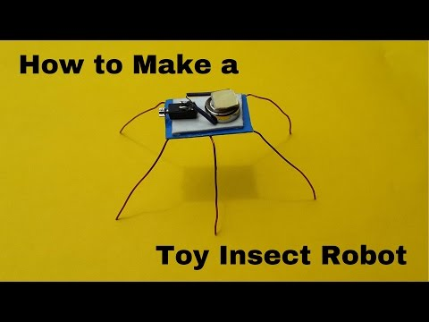 How to Make a Tiny Toy Insect Robot | Homemade Toy Robots