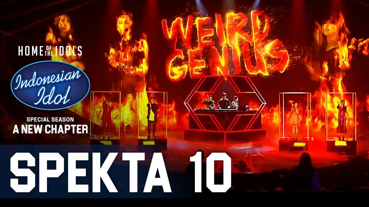 Download TOP 4 X WEIRD GENIUS - LATHI - SPEKTA SHOW TOP 4 - Indonesian Idol 2021 MP3 Gratis