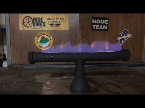 DIY TABLETOP FIRE PIT MADE WITH RECYCLED PARTS