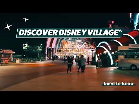 Disney Village, a lifestyle center like no other at Disneyland Paris!