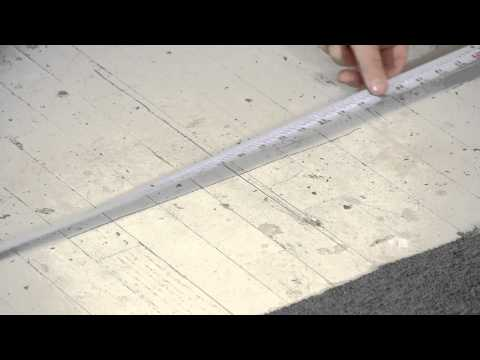 How to Install No-Adhesive 2X2 Carpet Tiles : Carpet Installation & Maintenance