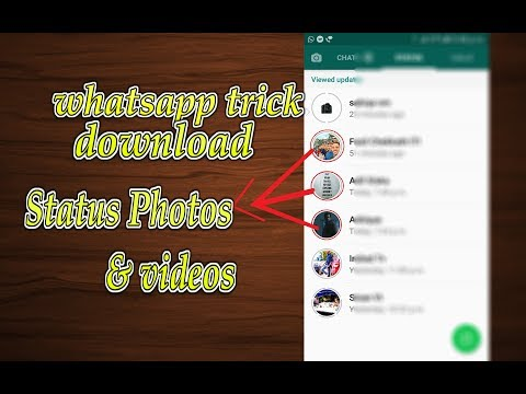 how to  download whatsapp status video and pictures without software