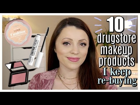 10 Drugstore Makeup Products I Keep Buying Again