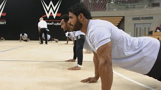 Behind the scenes of WWE Day One tryouts in Saudi Arabia