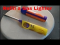 How to Refill a Gas Lighter