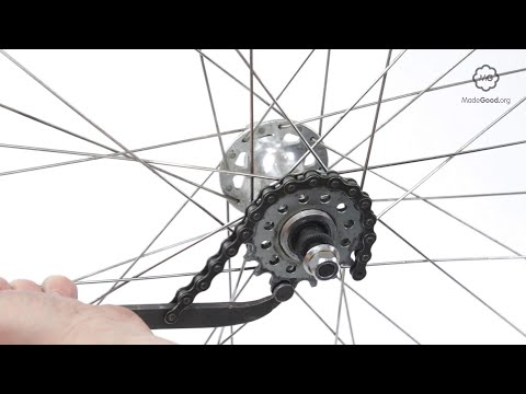 Remove A Bike Wheel's Fixed Sprocket
