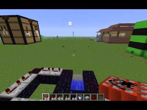 how to build a tnt cannon with 1 2 barrels