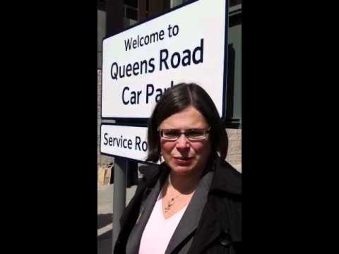Opening of New Nottingham Station Car Park