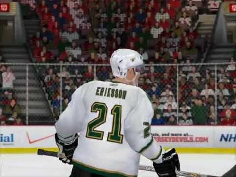 NHL 09 PC Dallas Stars dynasty (game 1)
