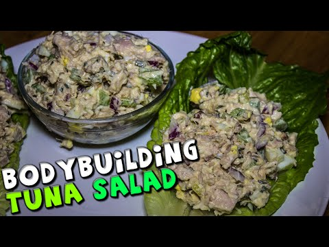 Bodybuilding TUNA Salad Recipe (Healthy)