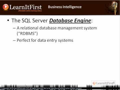 Business Intelligence and SQL Server