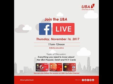 UBA YouTube Live