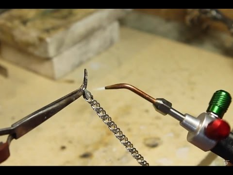 How To Adjust & Repair A Silver Bracelet. Silver Soldering Techniques
