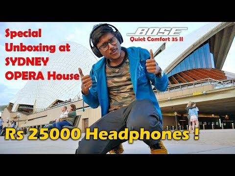 25,000Rs Headphones Unboxing at Sydney Opera House!