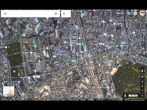 Google maps full 3D mode