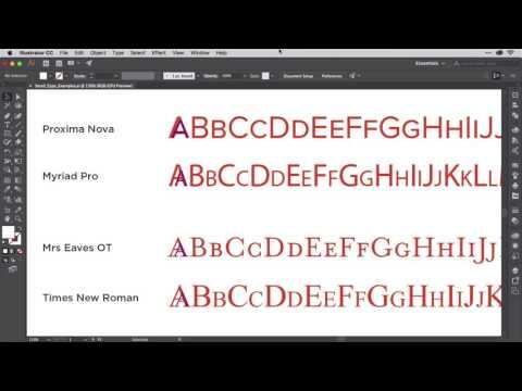 Using Small Caps Correctly - Illustrator Typography