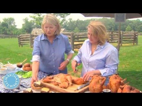 Grilled Beer Can Chicken - Martha Stewart