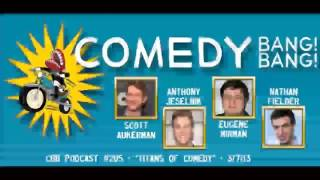 Anthnony Jeselnik, Nathan Fielder & Eugene Mirman - Comedy Bang! Bang! #205