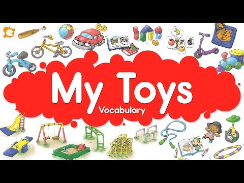 My Toys Vocabulary Chant - Inside, Outside and Playground TOYS