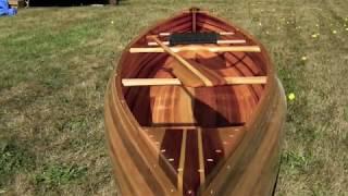 Making my first cedar strip canoe.  Time lapse