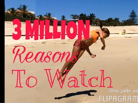 BEST FLIPS -Most viewed tumble videos -Insane flips by 10 /11 year old Cheerleader- over 3 MIL views