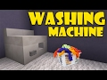 How To Make WASHING MACHINE | Minecraft PE (Pocket Edition) MCPE