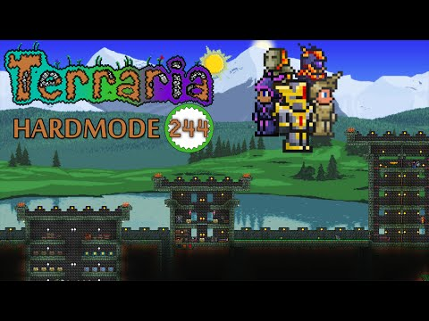 Terraria - CRAFT UP EVERY ARMOUR