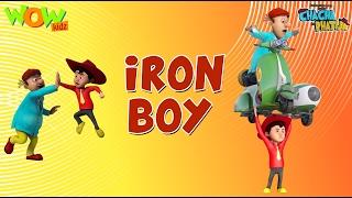 Iron Boy - Chacha Bhatija - Wowkidz