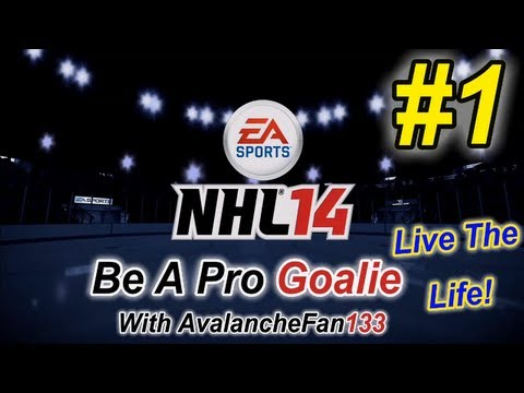 NHL 14 - Be A Pro - Goalie - Episode 1: Another Brand New Beginning