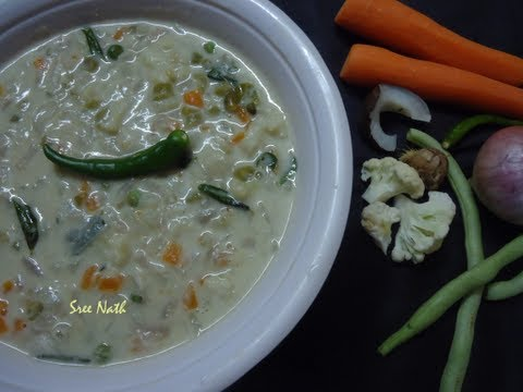 Kerala Vegetable Stew / Stew / Naadan Kerala Veg Ishtu - Side dish for breakfast