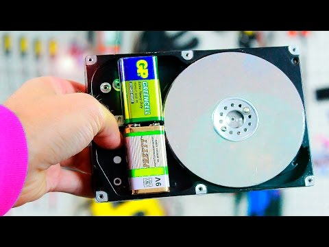 3 ideas - what can be made from an old HDD
