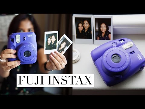 Fujifilm Instax (Polaroid) Camera How To + Review // Magali Vaz