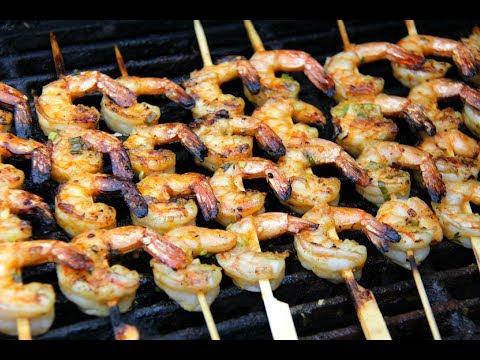 Island Style Grilled Shrimp #JulyMonthOfGrilling | CaribbeanPot.com