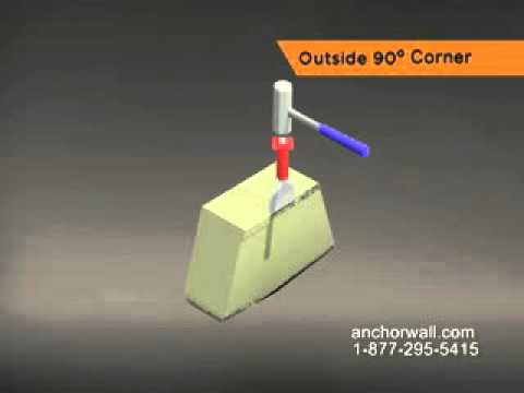 How to Install a Retaining Wall Outside 90 Degree Corner