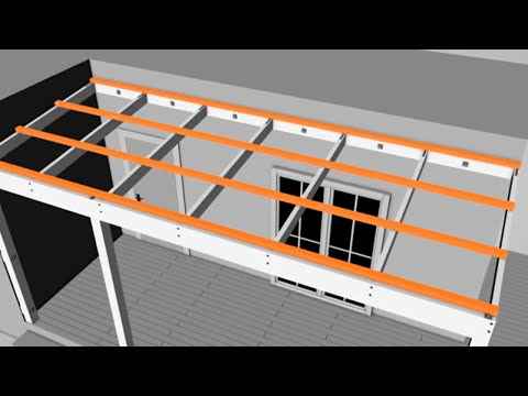 How to Build a Pergola Attached to Your House | Mitre 10 Easy As