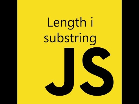 JS - Length i substring