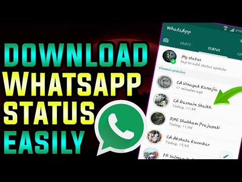 How to Download Someone Whatsapp Status Video
