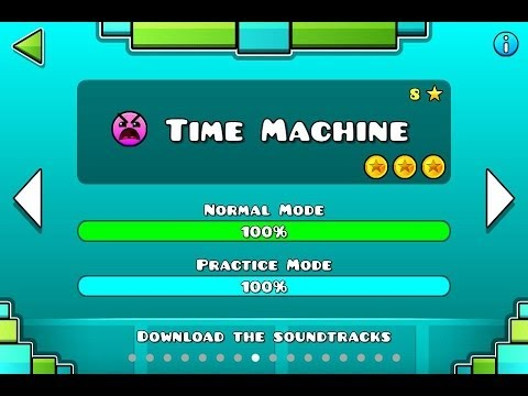 Geometry Dash - Level 8:Time Machine (All Coins)
