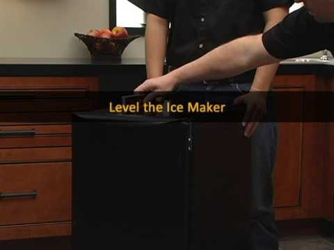 Ice Maker Installation Part 2B  Electrical Requirements and Leveling