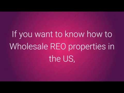 How to Wholesale REO Properties In The US
