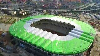 ملعب تيزي وزو الجديد، تحفة معمارية تزين المدينة